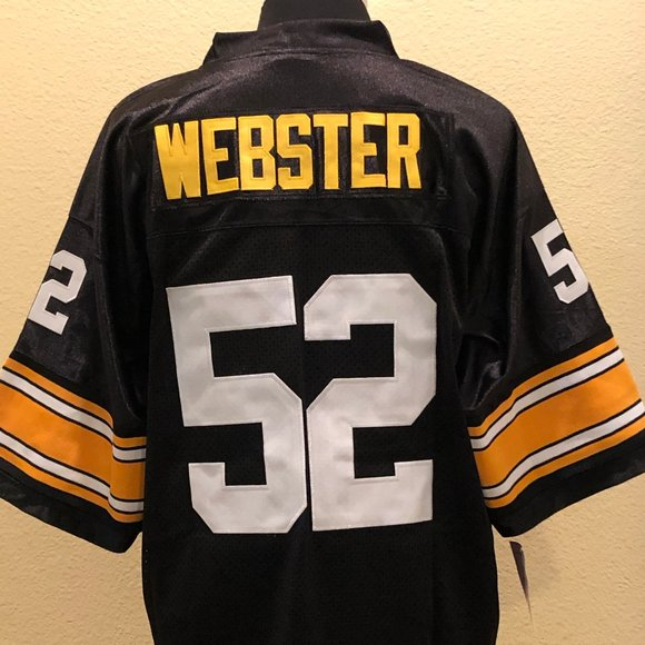 Retro Mike Webster Pittsburgh Steelers XL Jersey